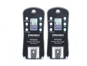 YONGNUO Wireless Flash Trigger & Shutter Release RF-605N RF605N for Nikon