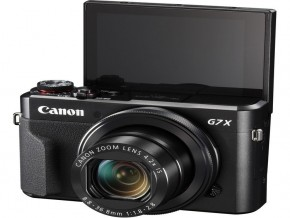 Canon PowerShot G7 X Mark II + bag +16gb 80mb