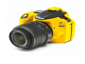 FOR NIKON D3200 YELLOW COVER
