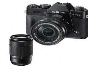 FUJIFILM X-T20 XC16-50MM XC50-230MM BLACK
