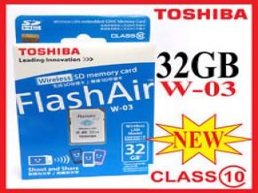 W03 TOSHIBA WIFI MEMORY 32GB CLASS 10