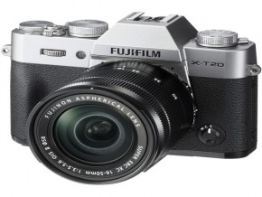 Fujifilm X-T20 Mirrorless Digital Camera with 16-50mm Lens Silver