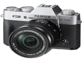Fujifilm X-T20 Mirrorless Digital Camera with 16-50mm Lens Silver