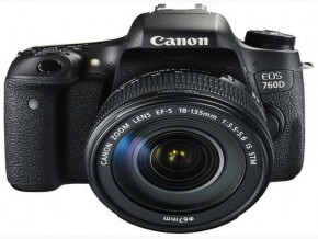 Canon EOS 760D KIT 18-135MM 16GB + BAG